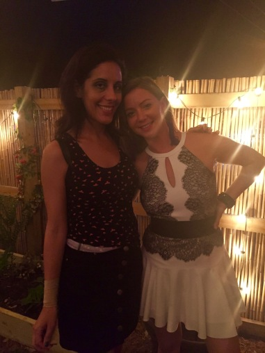 Writer Monica (Vega) Torres and Owner Rikki Kamensky
