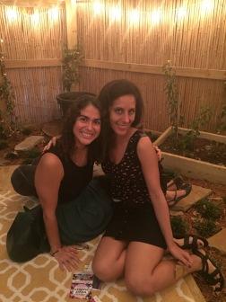 Yoga Teacher Natalia Vasquez and Writer Monica (Vega) Torres
