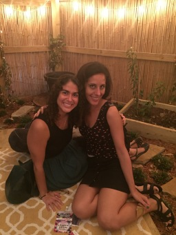 Yoga Teacher Natalia Vasquez and Writer Monica (Vega) Torres